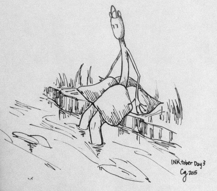 BCW: Inktober Doodle -- Talia