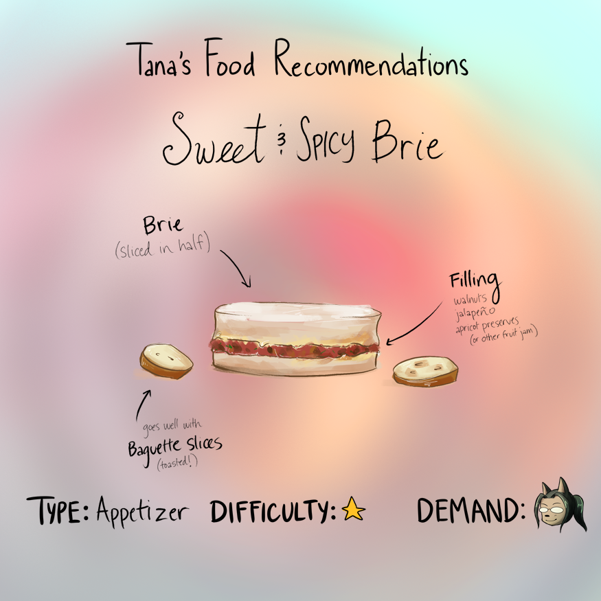 BCW: Food Recommendation -- Sweet & Spicy Brie