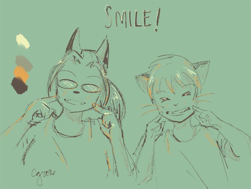 BCW: Limited Color Palette -- Smile