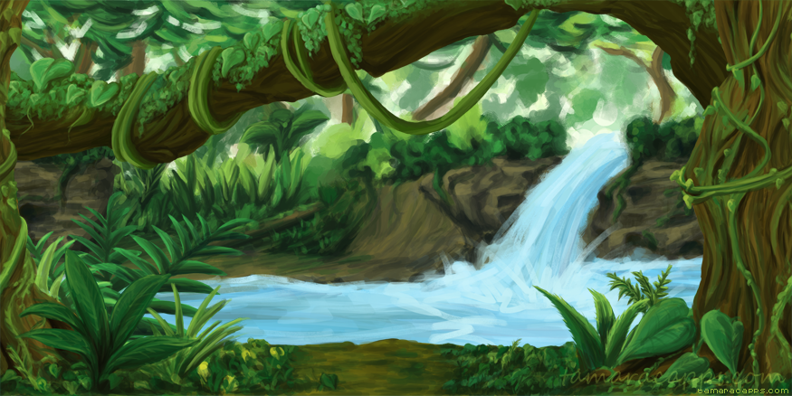 BCW: Rainforest Background