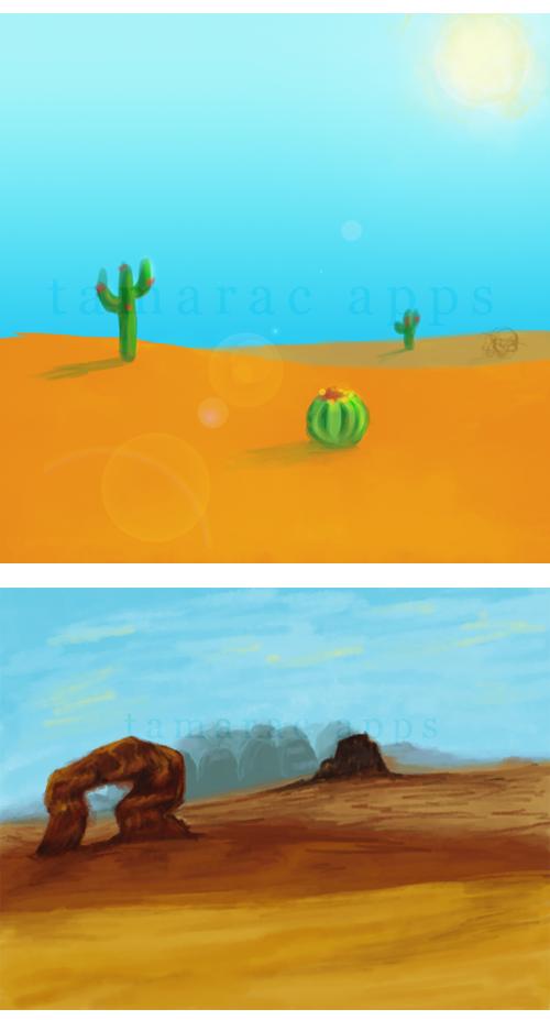 BCW: Desert Concept Art