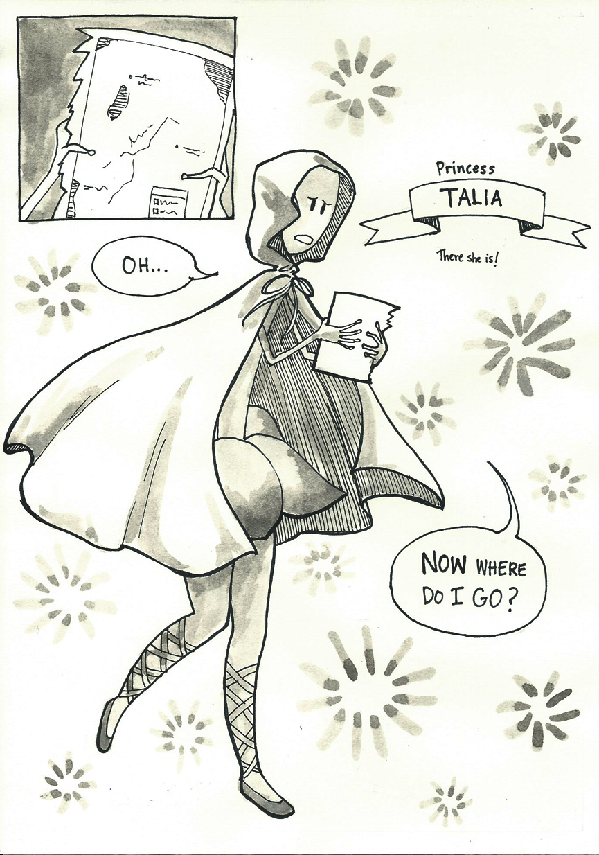 Inktober Special -- The Adventures of Princess Talia -- 13
