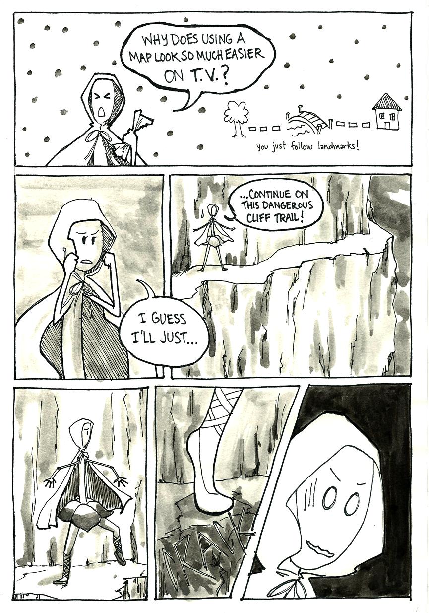 Inktober Special -- The Adventures of Princess Talia -- 14