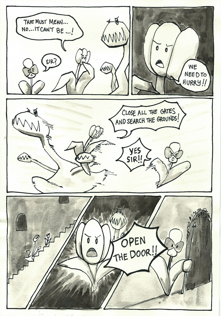 Inktober Special -- The Adventures of Princess Talia -- 08