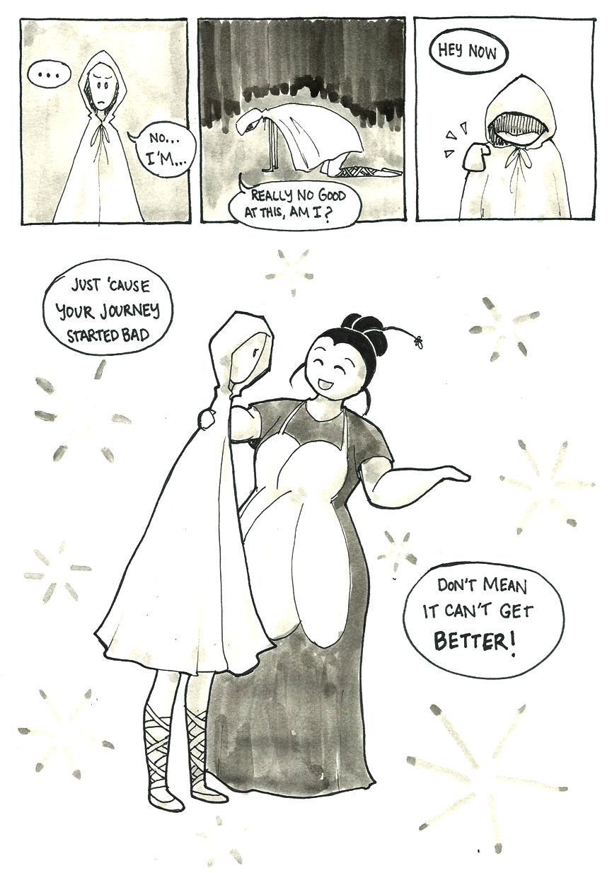 Inktober Special -- The Adventures of Princess Talia -- 27