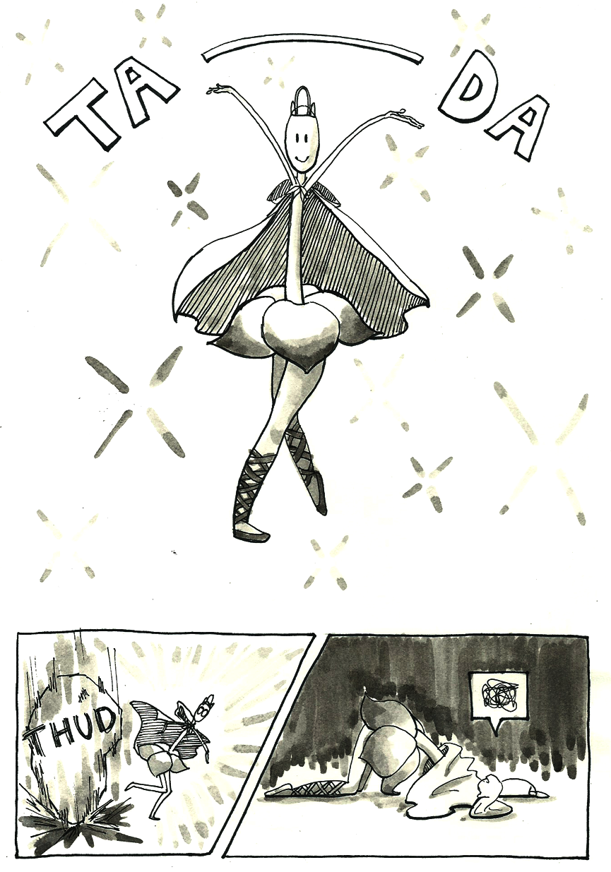 Inktober Special -- The Adventures of Princess Talia -- 16