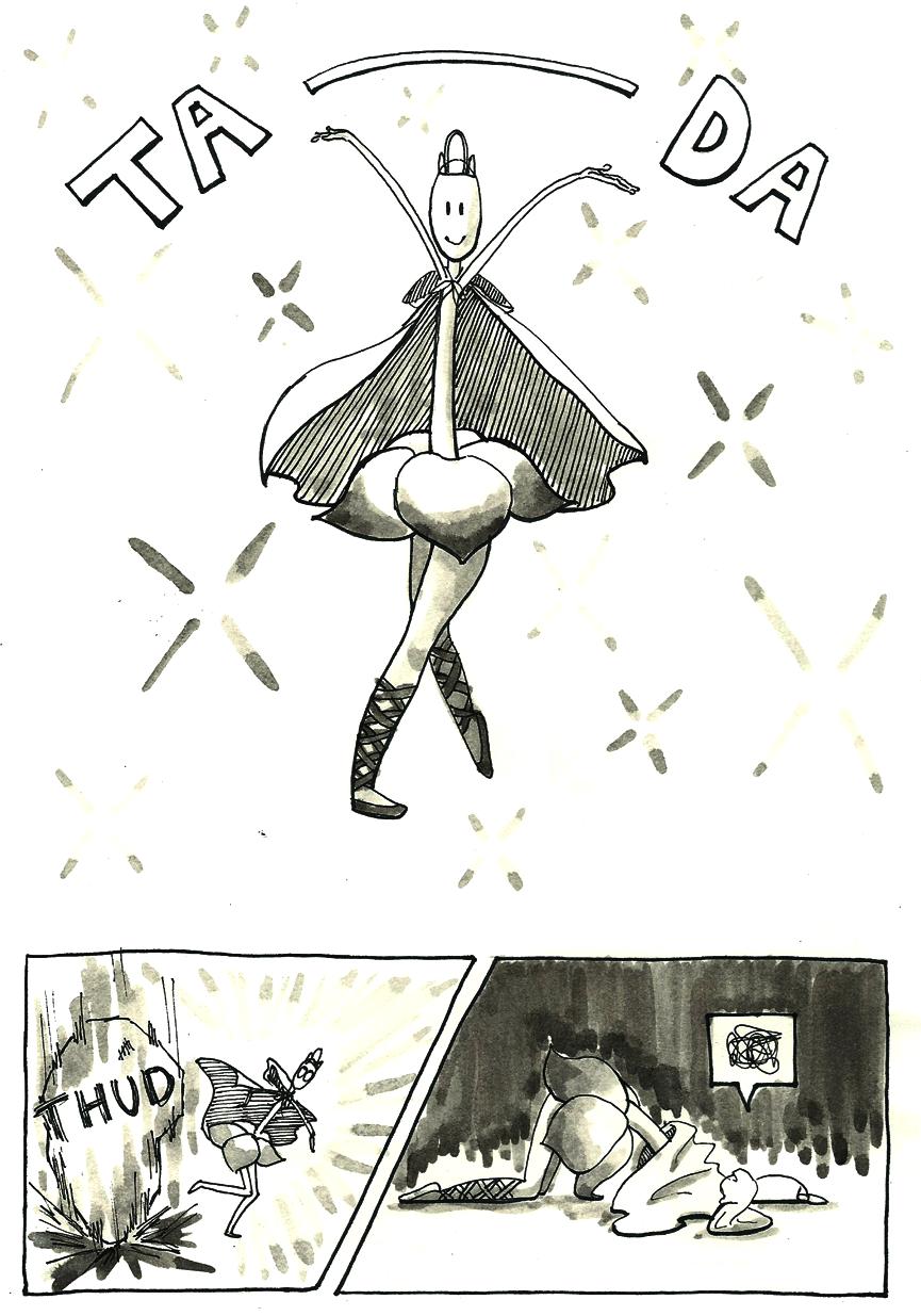 Inktober Special -- The Adventures of Princess Talia -- 16