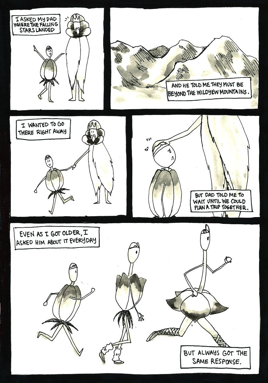 Inktober Special -- The Adventures of Princess Talia -- 24