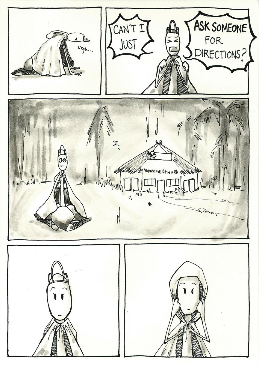 Inktober Special -- The Adventures of Princess Talia -- 17